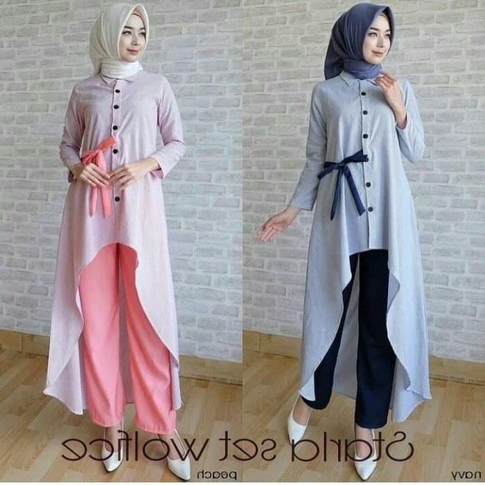 Ide toko Baju Lebaran 0gdr Jual Baju Muslim Lebaran Modern Starla Set Muslimodis