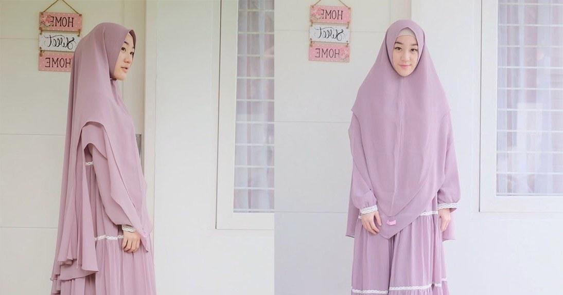 Ide Trend Baju Lebaran Tahun 2019 O2d5 Trend Model Baju Gamis Dan Hijab Yang Cocok Untuk Lebaran