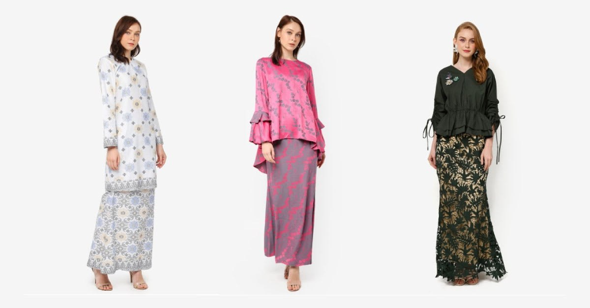 Ide Trend Warna Baju Lebaran 2019 S1du 20 Trend Baju Hari Raya Wanita Terkini Di Malaysia 2020