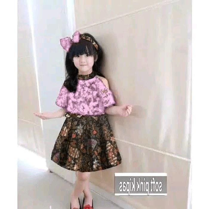Inspirasi Baju Lebaran 2020 Anak Perempuan Q5df 30 Model Baju Batik Kombinasi Anak Perempuan Fashion