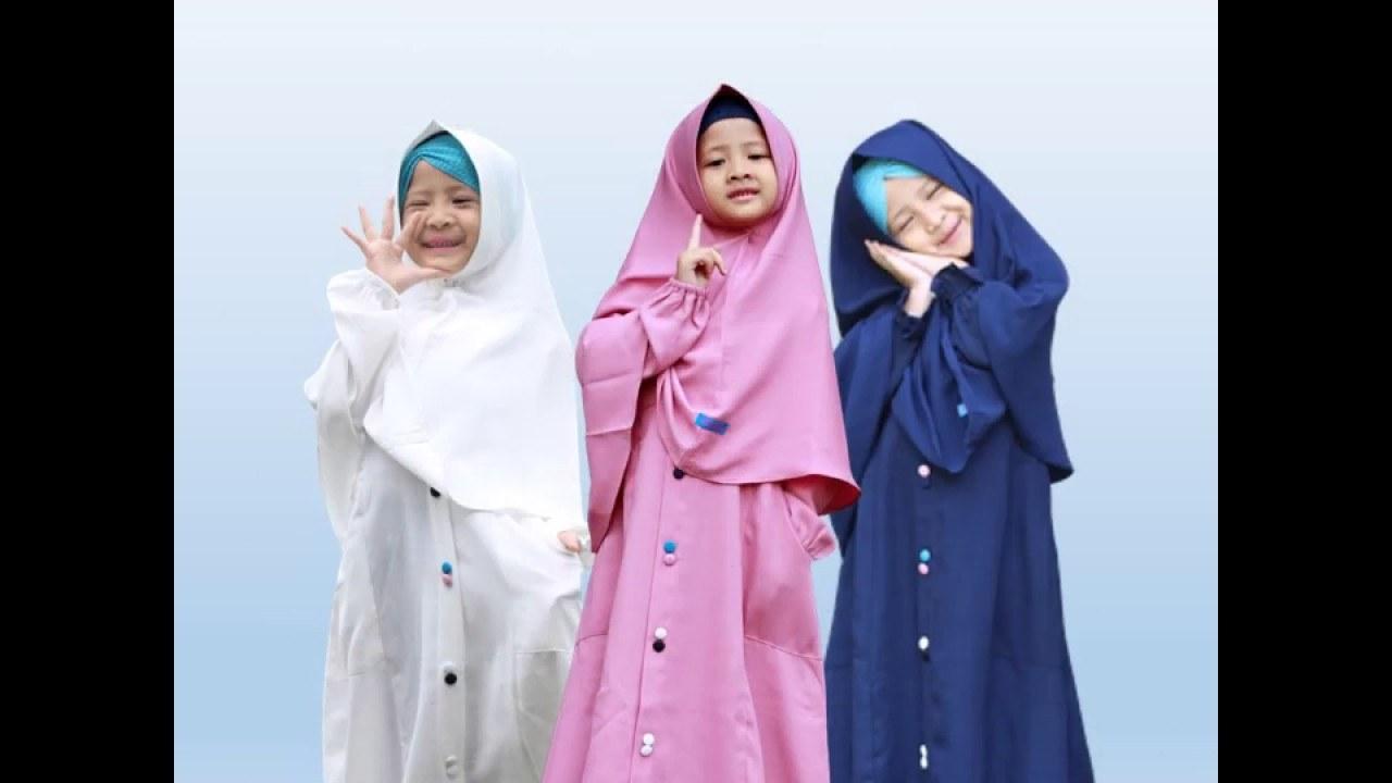 Inspirasi Baju Lebaran Anak 2019 3id6 Model Baju Gamis Anak Perempuan Lebaran 2019 Terbaru