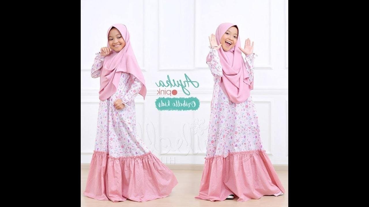 Inspirasi Baju Lebaran Anak Perempuan Terbaru Etdg Model Baju Gamis Anak Perempuan Terbaru 2018