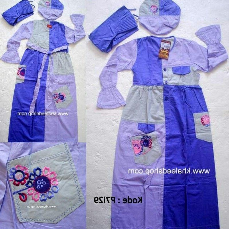 Inspirasi Baju Lebaran Anak Umur 10 Tahun Txdf Baju Muslim Anak Cewek P7i29 Size 7 Anak Cewek Untuk Usia
