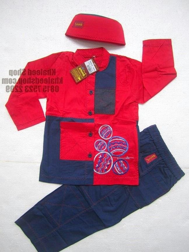 Inspirasi Baju Lebaran Anak Umur 10 Tahun U3dh Baju Muslim Anak Cowok L5g11 Size 5 Anak Cowok Untuk Usia