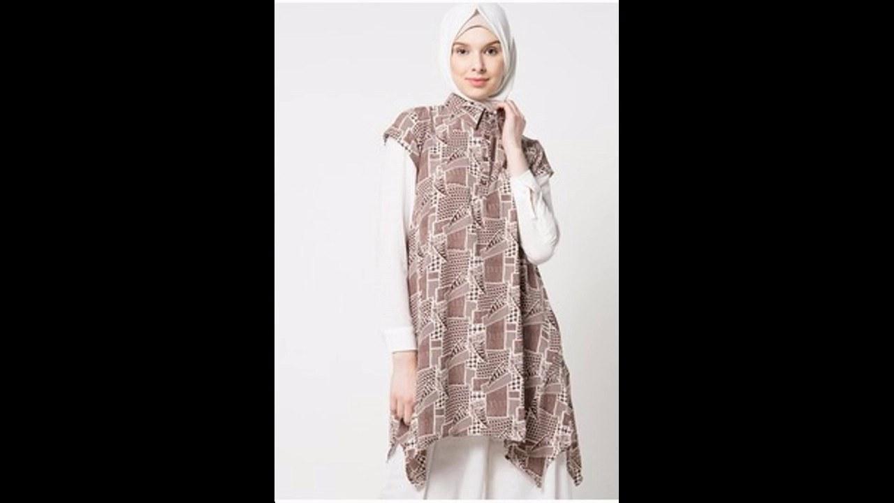 Inspirasi Baju Lebaran atasan Dddy Baju Muslim atasan Blouse butik Untuk Lebaran 2017