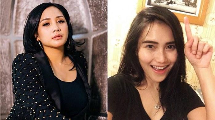 Inspirasi Baju Lebaran Ayu Ting Ting 2018 Zwdg Kompaknya Ayu Ting Ting & Nagita Slavina Berlebaran Dengan