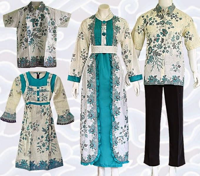Inspirasi Baju Lebaran Batik Drdp Baju Lebaran Batik Keluarga Muslim Terbaru Murah
