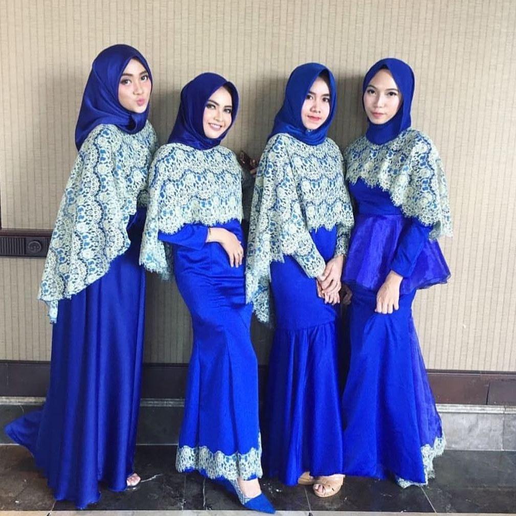 Inspirasi Baju Lebaran Brokat 2018 Qwdq 18 Trend Model Baju Hijab 2018 Terbaru Desain Casual & Modern
