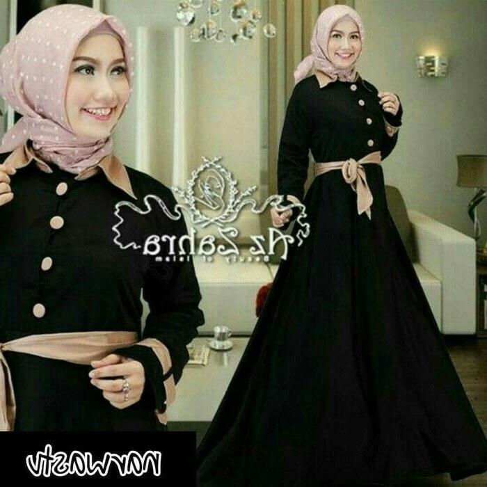 Inspirasi Baju Lebaran Jaman now U3dh Pin Di Baju Muslim Baju Muslim Jaman now