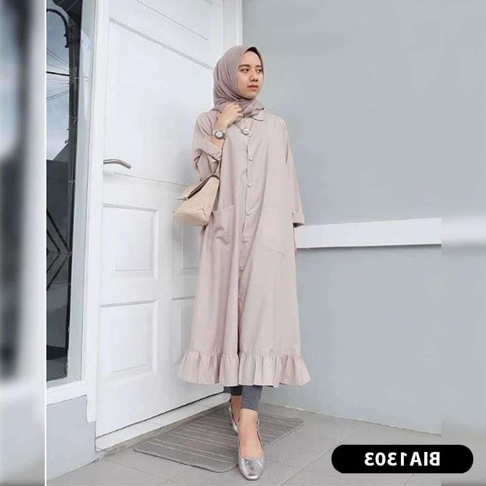 Inspirasi Baju Lebaran Kekinian 2018 3ldq Jual Baju Muslim Kekinian Baju Muslim Terbaru 2018 Fashion