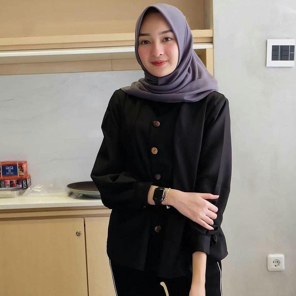 Inspirasi Baju Lebaran Kekinian 2018 Tldn Baju Wanita Terbaru 2018 Ahz09 Busana Kekinian Keren Dan