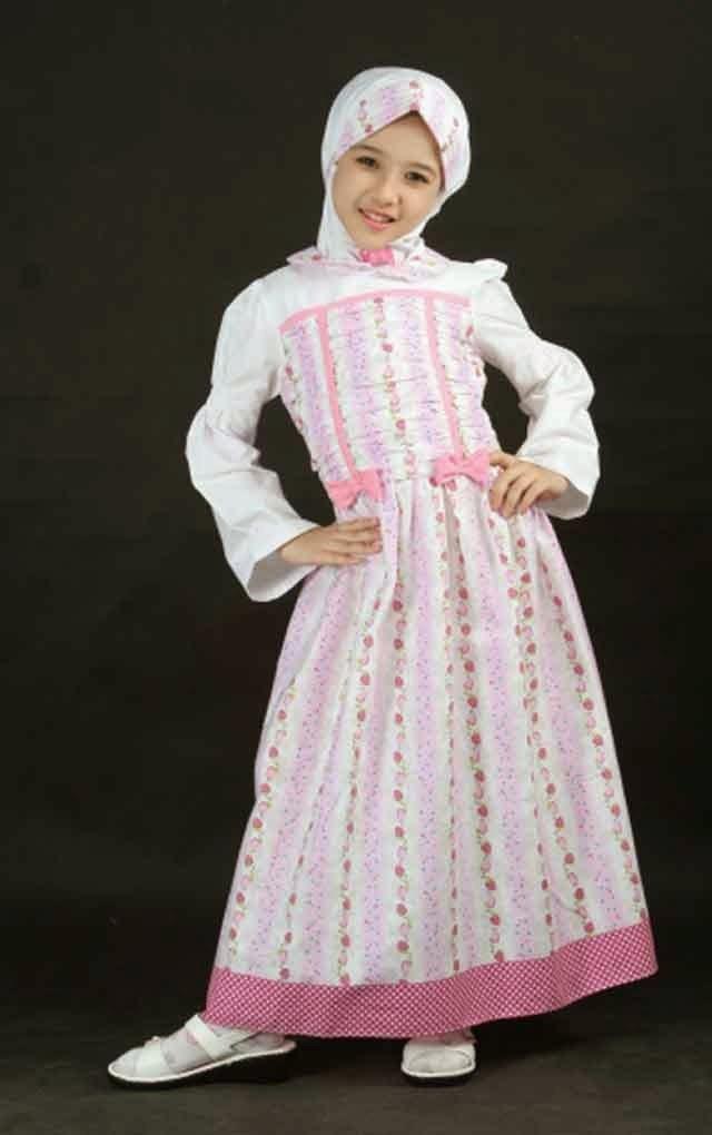 Inspirasi Baju Lebaran Muslim Anak Perempuan Bqdd 20 Contoh Model Baju Muslim Anak Perempuan Terbaru
