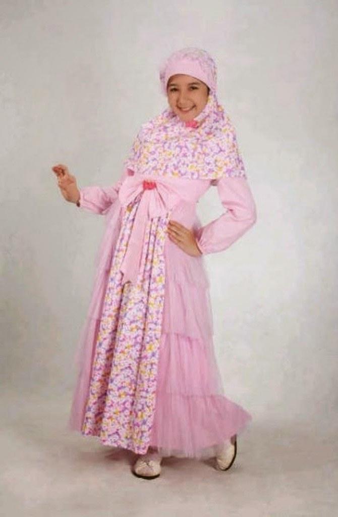 Inspirasi Baju Lebaran Muslim Anak Perempuan Tqd3 40 Model Baju Muslim Lebaran Anak Perempuan Terbaru 2020