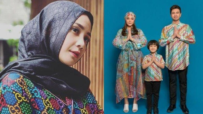 Inspirasi Baju Lebaran Nagita Slavina Tqd3 Rejeki Raffi Ahmad Ngalir Hingga Bagi Thr Rp 1 M