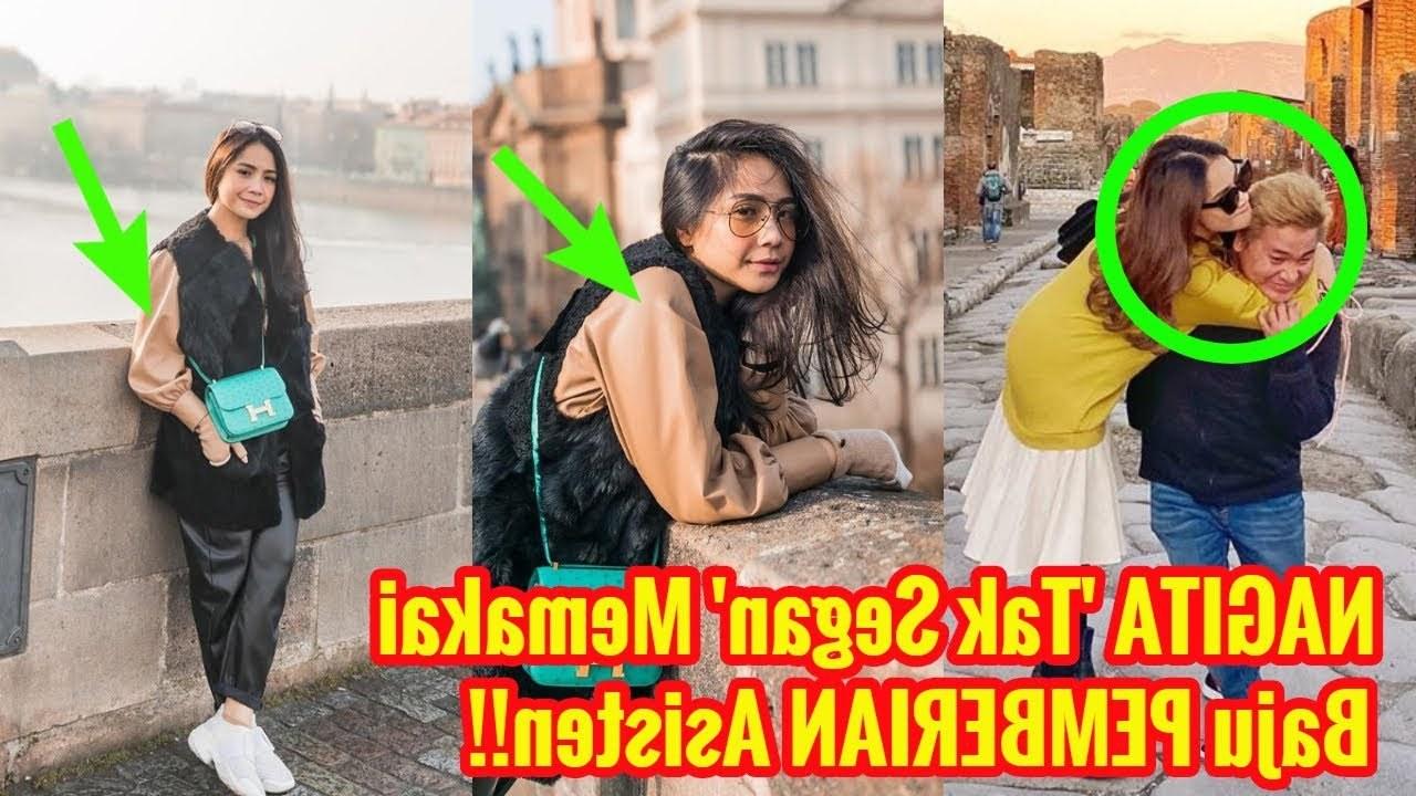 Inspirasi Baju Lebaran Nagita Slavina Wddj Nagita Slavina Modis Pakai Baju Pemberian Merry Sang