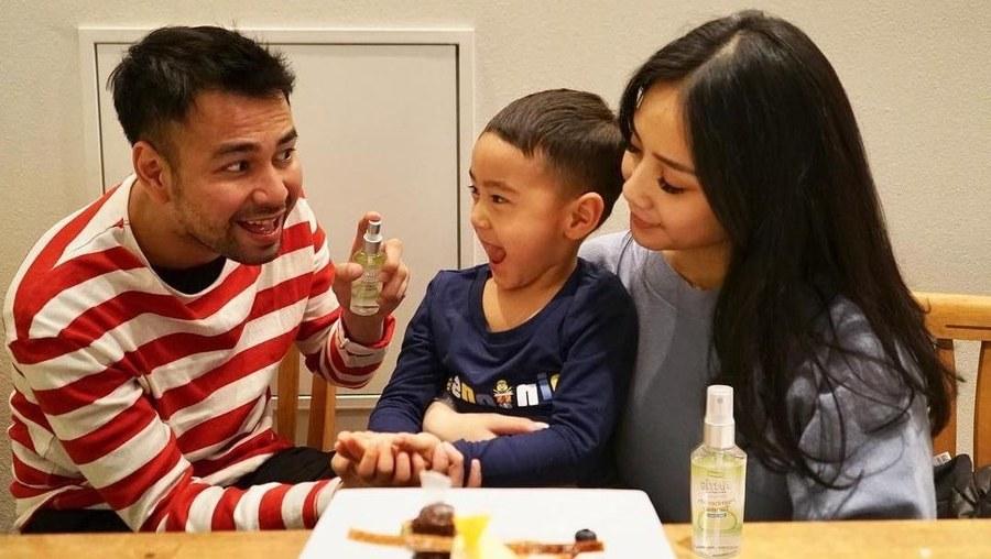 Inspirasi Baju Lebaran Nagita Slavina Xtd6 Terkejutnya Raffi Ahmad Dengan Harga Baju Lebaran Nagita