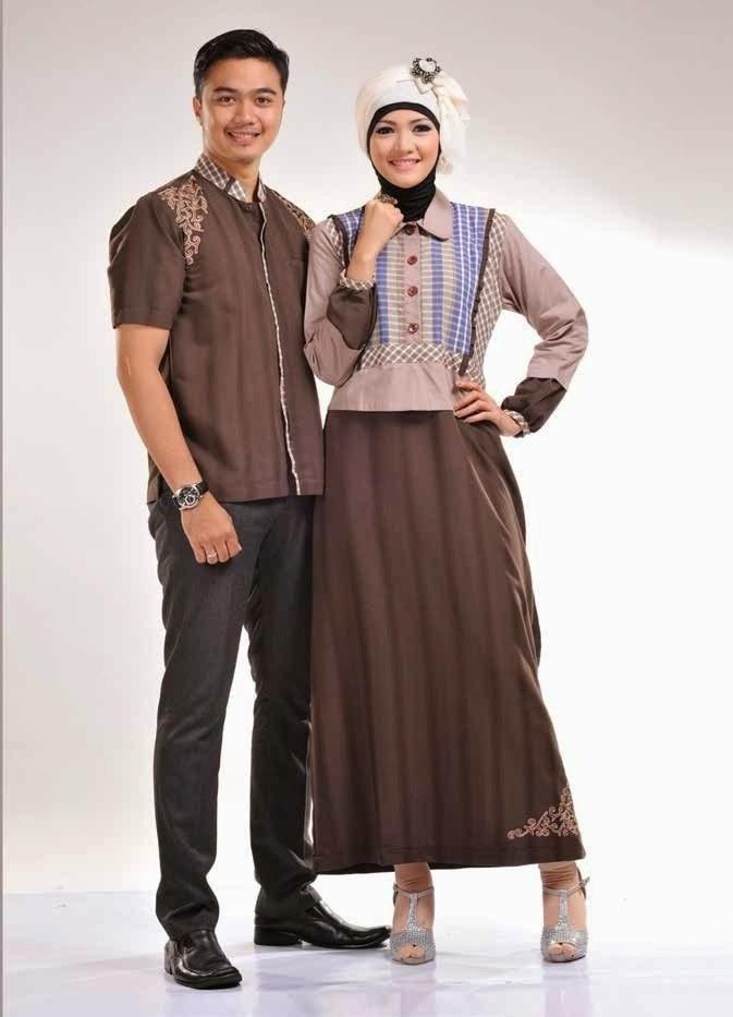 Inspirasi Baju Lebaran Pasangan Suami istri Dwdk 25 Model Baju Lebaran Couple Untuk Idul Fitri 2018
