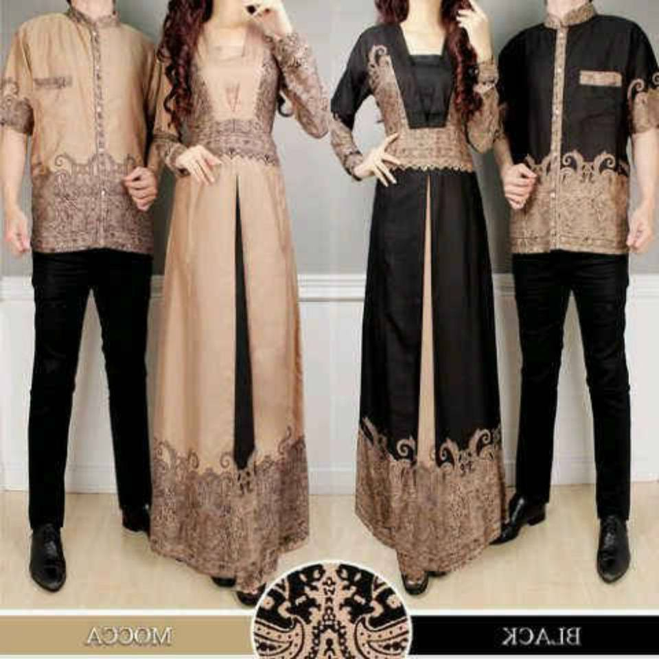 Inspirasi Baju Lebaran Pasangan Suami istri U3dh 25 Model Baju Lebaran Couple Untuk Idul Fitri 2018