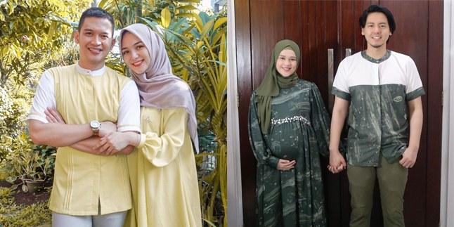 Inspirasi Baju Lebaran Pasangan Suami istri Zwdg 12 Pasangan Seleb Ini Rayakan Lebaran Pertama Sebagai