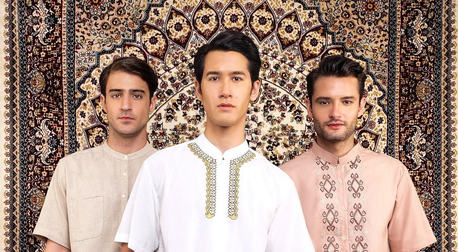 Inspirasi Baju Lebaran Pria Nkde Tren Baju Muslim Dan Aksesori Untuk Pria Yang Ingin Tampil