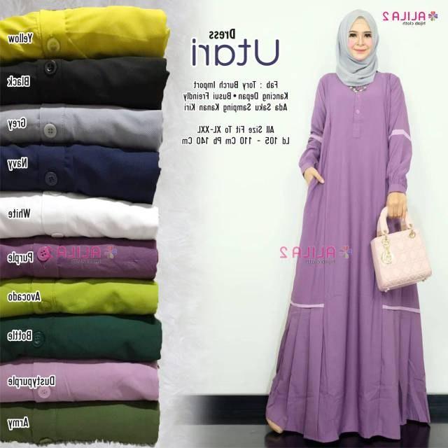 Inspirasi Baju Lebaran Terbaru 2020 Wanita Gdd0 Model Baju Gamis Lebaran Terbaru 2020 Harga Murah Dewi69