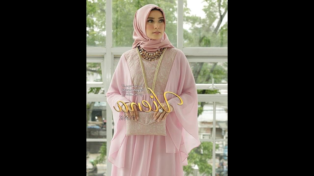 Inspirasi Baju Lebaran Thn 2019 S1du Model Baju Kaftan Dress Muslim Lebaran 2019