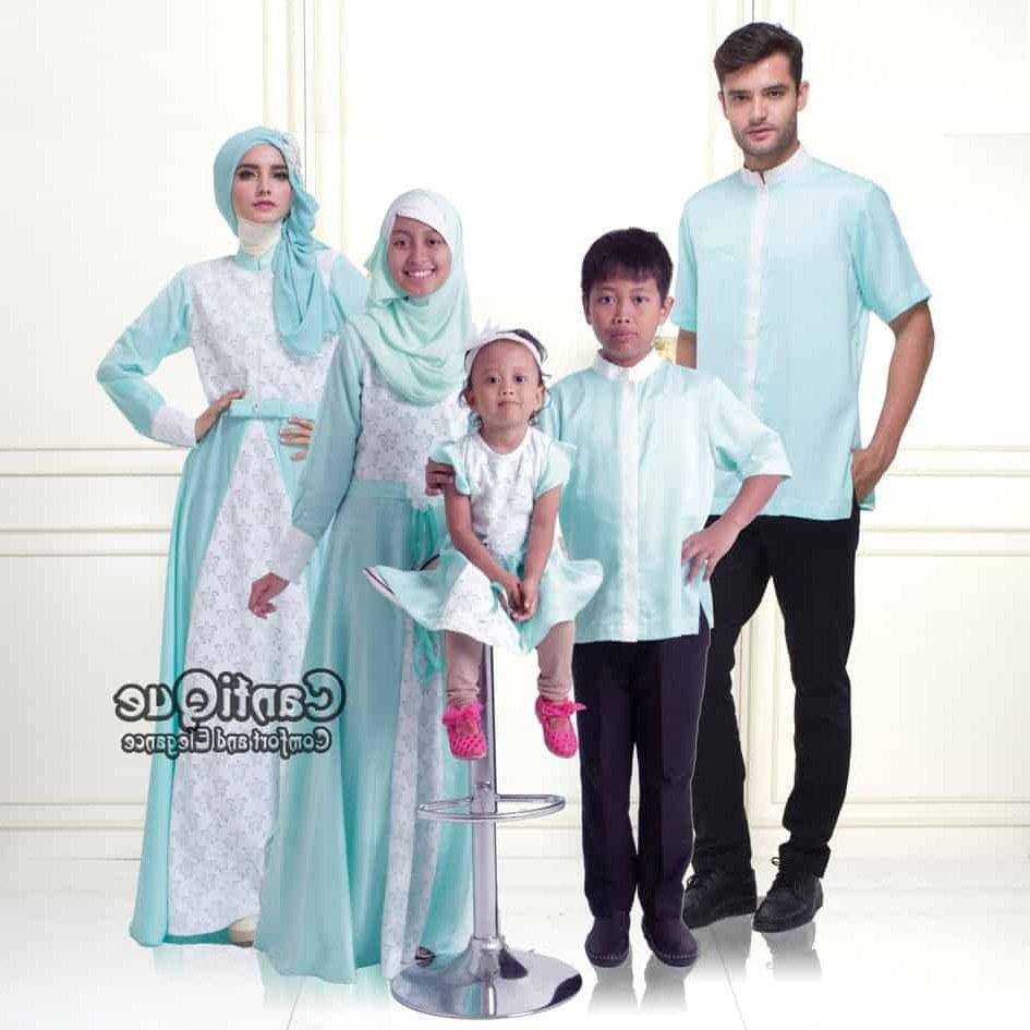 Inspirasi Baju Lebaran Untuk Ibu Menyusui Fmdf Baju Muslim Keluarga Sarimbit Keluarga Muslim