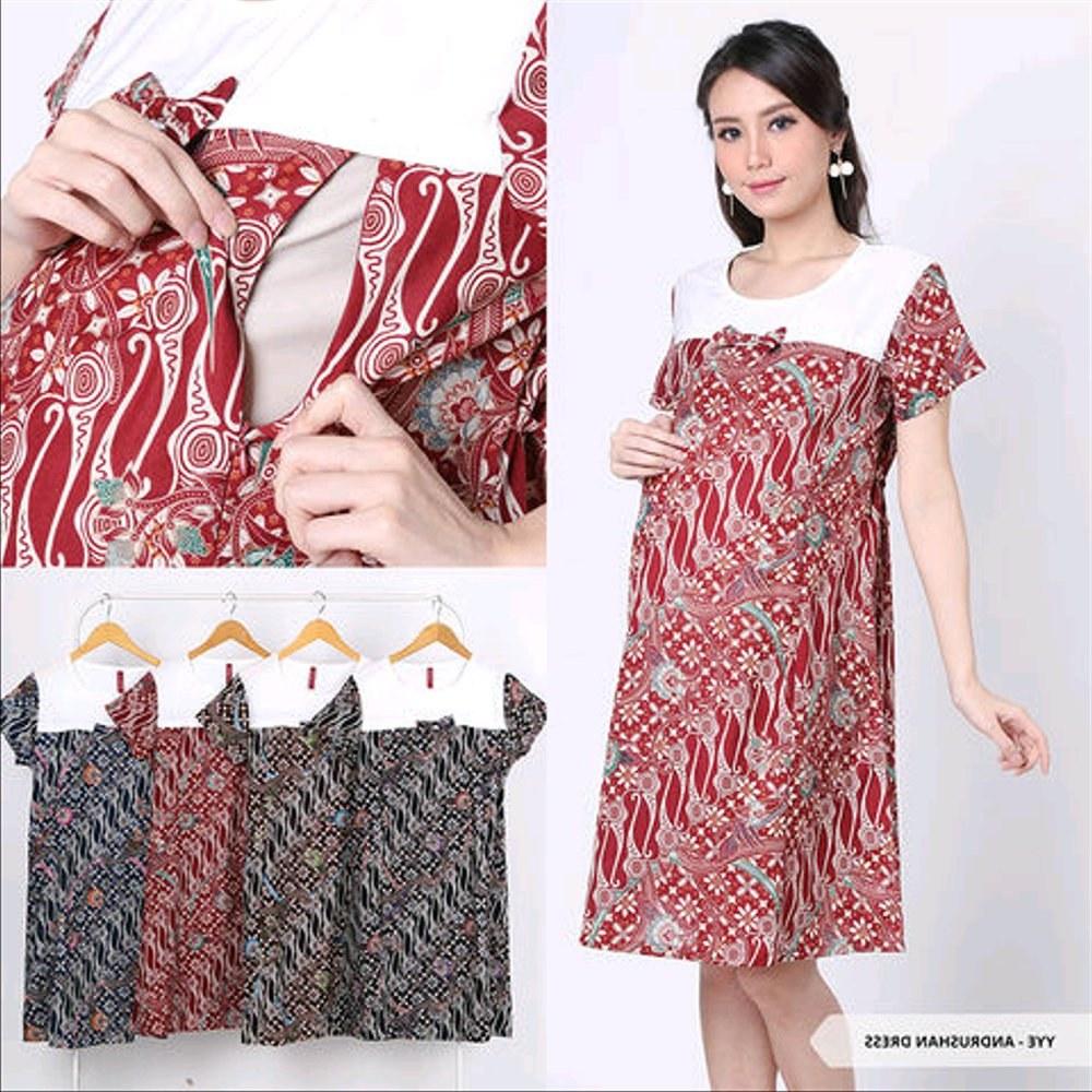 Inspirasi Baju Lebaran Untuk Ibu Menyusui Irdz Jual Baju Batik Untuk Ibu Hamil Dan Menyusui Cantik Dress