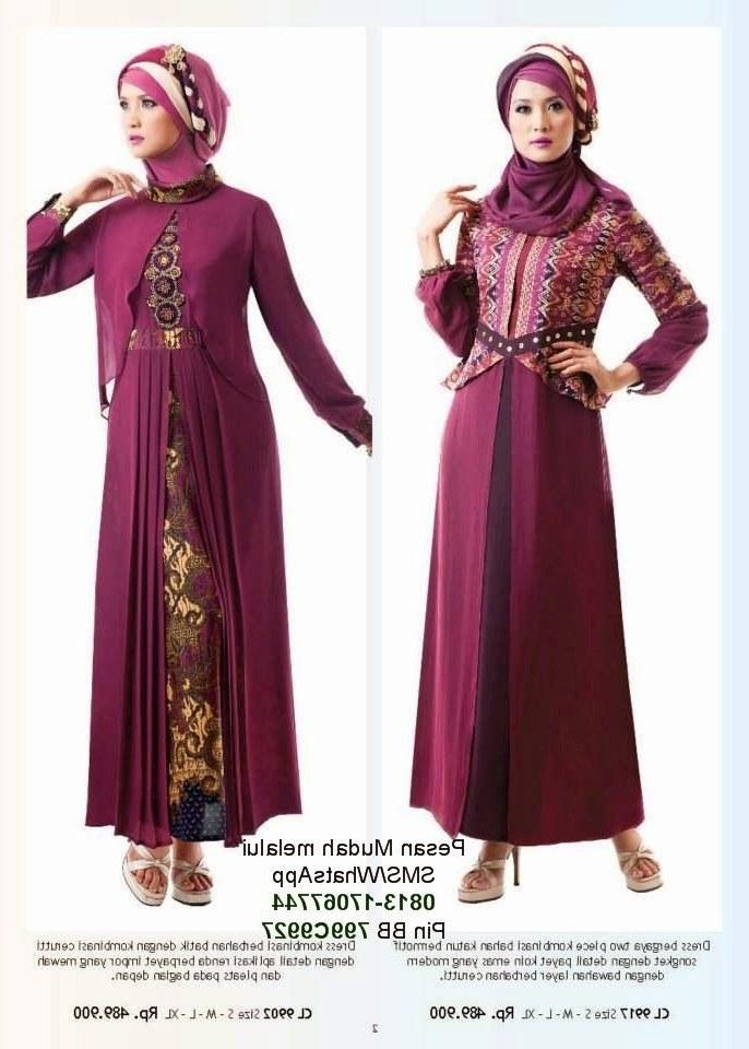 Inspirasi Baju Lebaran Yang Cantik U3dh Model Baju Muslim Gamis Modern