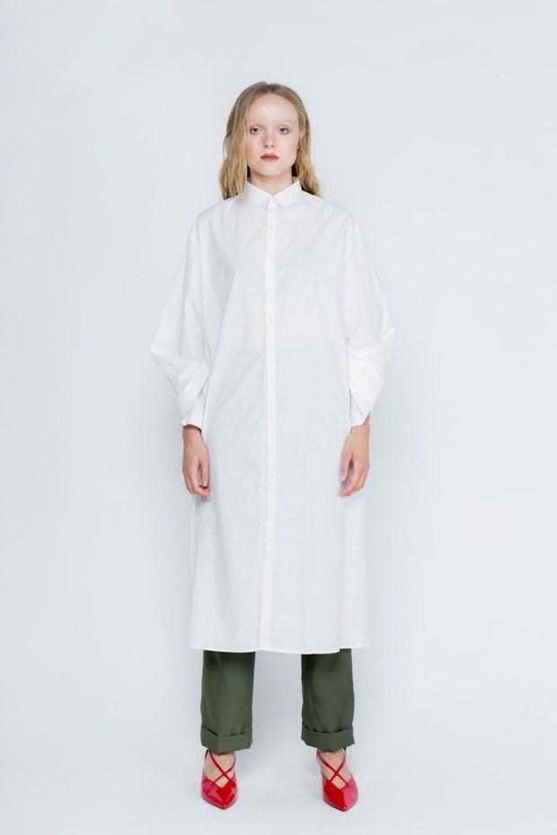 Inspirasi Cari Baju Lebaran Whdr Cari Baju Baru Ini 5 Gamis Dan Dress Putih Untuk Dipakai