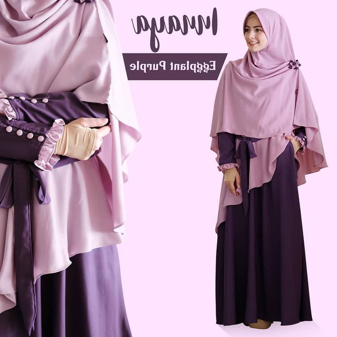 Inspirasi Contoh Baju Lebaran 2019 Ffdn 80 Model Baju Lebaran Terbaru 2019 Muslimah Trendy Model