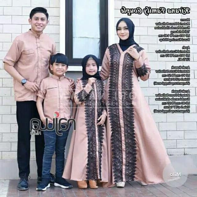 Inspirasi Desain Baju Lebaran Keluarga 2019 H9d9 Model Baju Lebaran Keluarga Terbaik 2020 Desain Mewah Dan