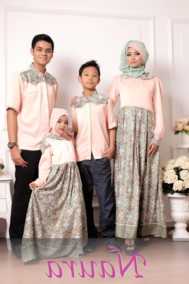 Inspirasi Model Baju Lebaran 2018 Anak Fmdf Aybige Peach Bunda Rp 535 000 Ayah Rp 275 000