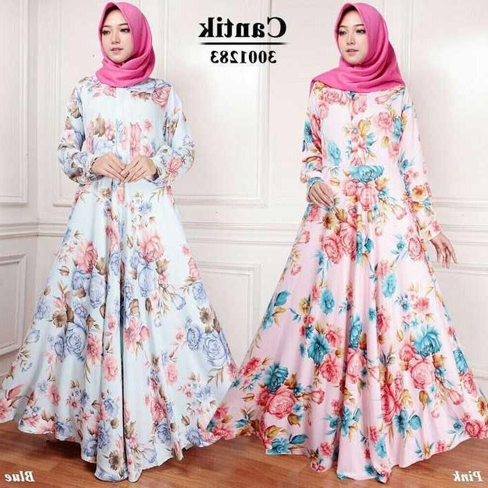 Inspirasi Model Baju Lebaran 2018 Tanah Abang Fmdf Model Baju Lebaran 2018 Cantik 9 Pink Biru