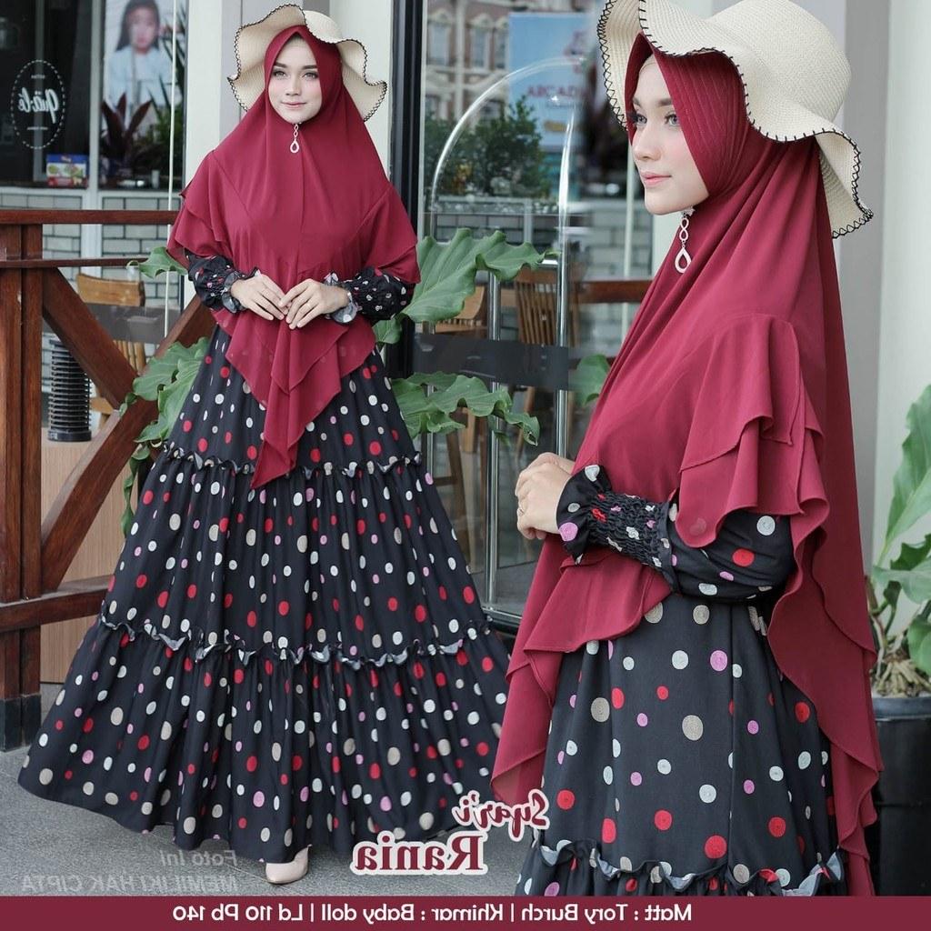 Inspirasi Model Baju Lebaran 2020 Mndw Model Baju Gamis Lebaran 2020 Rania Gamisalya