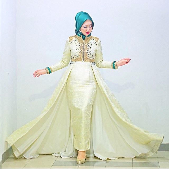 Inspirasi Model Baju Lebaran Dian Pelangi 2017 8ydm Trend Baju Muslim Dian Pelangi Bahan Satin Terbaru 2017