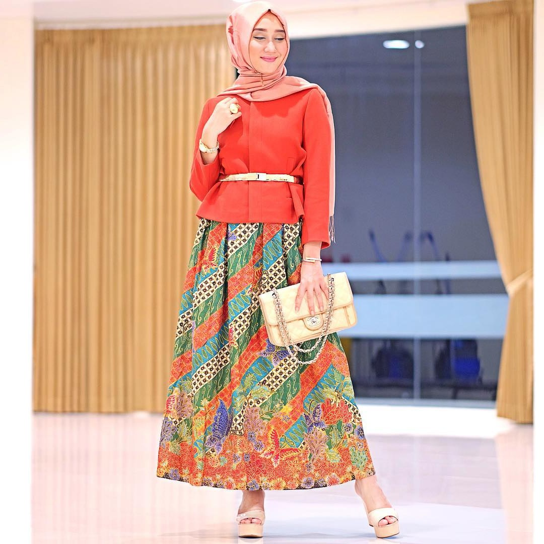 Inspirasi Model Baju Lebaran Dian Pelangi 2017 Wddj Pilihan Model Baju Hijab Dian Pelangi Terbaru 2016