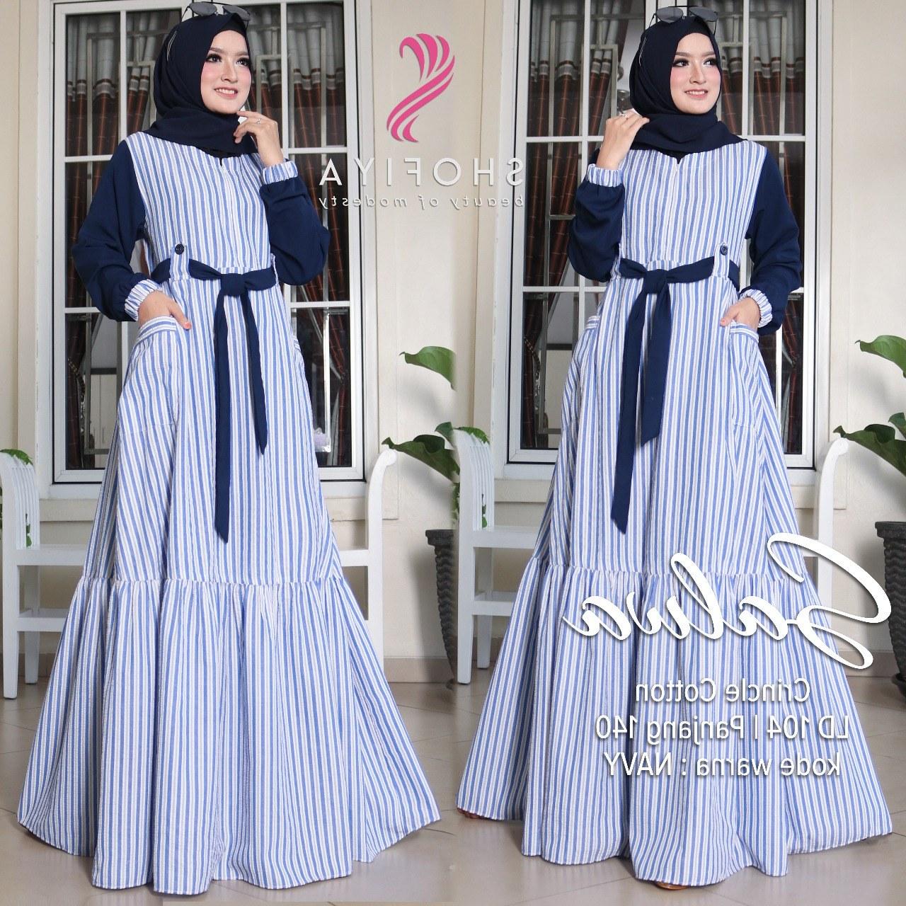 Inspirasi Model Baju Lebaran Gamis 9ddf Baju Gamis Terbaru Lebaran Wa 0811 5131 482