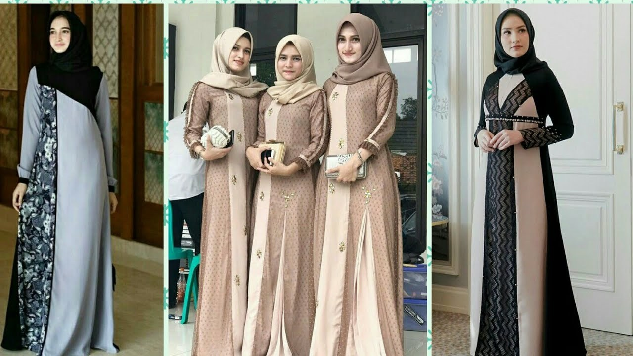 Inspirasi Model Baju Lebaran Gamis Tqd3 25 Model Baju Gamis original Branded Terbaru 2019 2020
