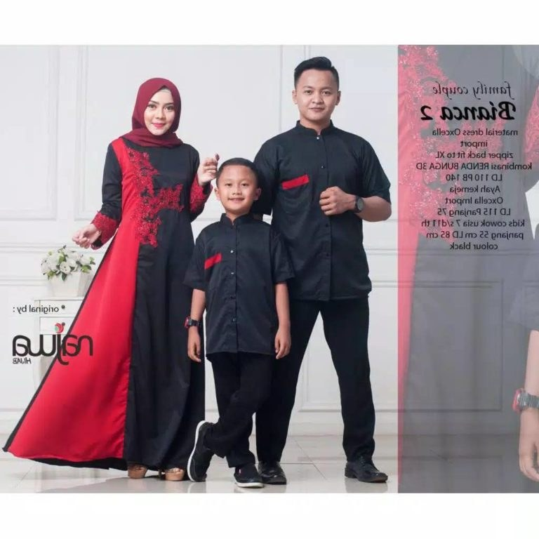 Inspirasi Model Baju Lebaran Keluarga 2019 O2d5 Baju Lebaran Satu Keluarga Bianca Gamissyari