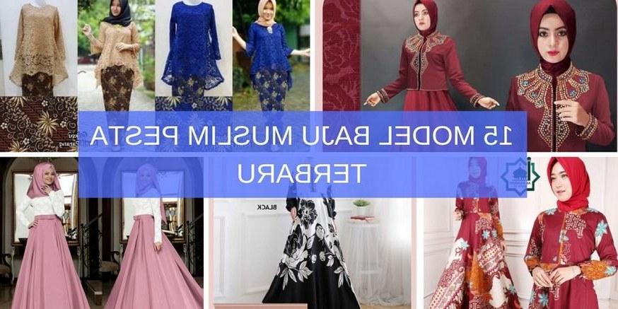 Inspirasi Model Baju Lebaran Laki Laki 2019 Ffdn 15 Model Baju Muslim Pesta Terbaru 2019