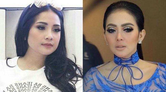 Inspirasi Model Baju Lebaran Syahrini 2017 Zwdg Kaftan Model Nagita Slavina Dan Syahrini Jadi Tren Baju