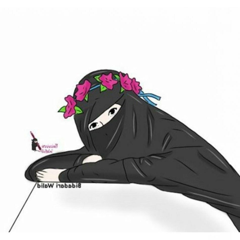 Inspirasi Muslimah Kartun Bercadar Ipdd 43 Gambar Kartun Muslimah Berhijab Lucu Dan Menggemaskan