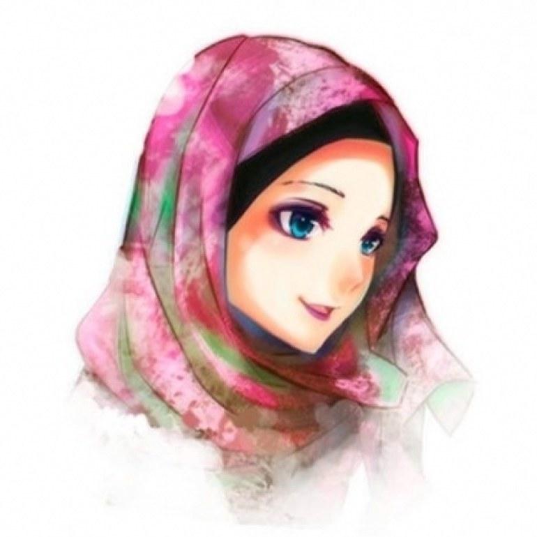 Inspirasi Muslimah Kartun Cantik Thdr 75 Gambar Kartun Muslimah Cantik Dan Imut Bercadar
