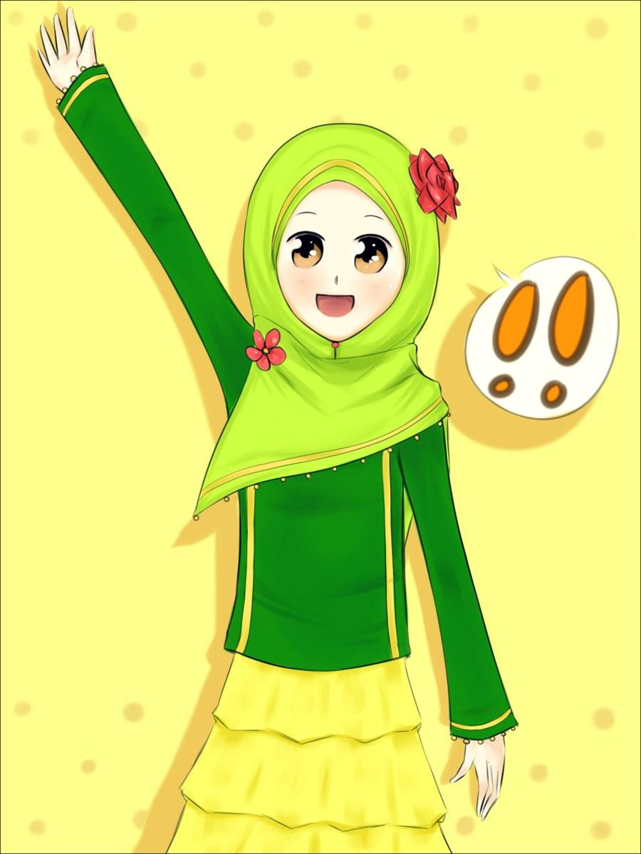 Inspirasi Muslimah Kartun Cantik X8d1 Catatan Kecil Kartun Muslimah El Dan Cantik