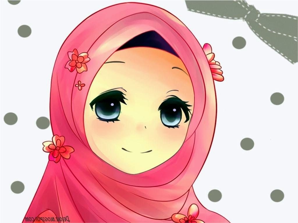 Inspirasi Muslimah Kartun Cantik Zwd9 Wallpaper Muslimah Cute