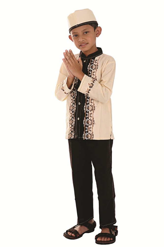 Model Baju Lebaran 2019 Anak Perempuan Zwd9 Baju Muslim Bayi Perempuan 10 Bulan