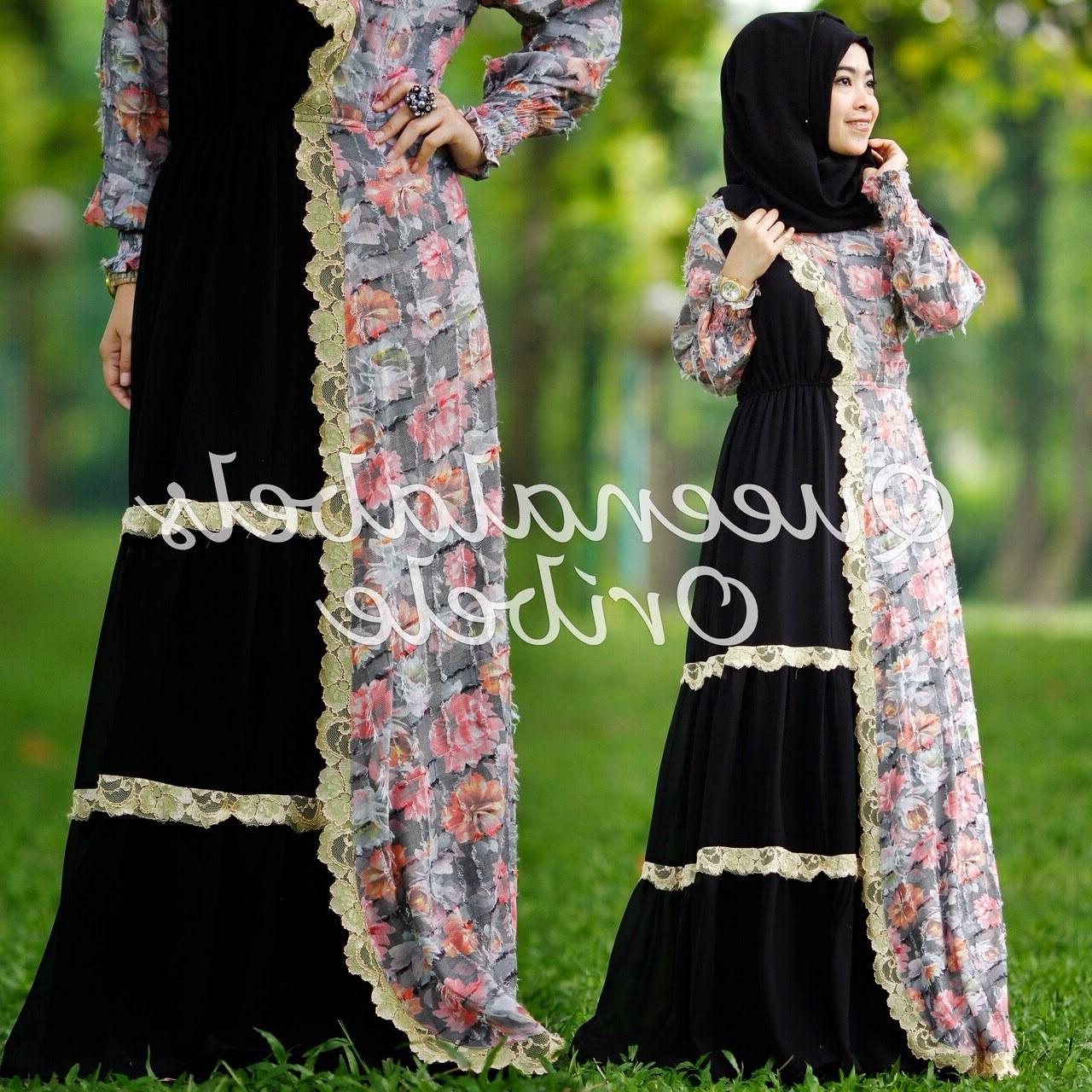 Model Baju Lebaran Ala Syahrini 9ddf Baju Gamis Terbaru Ala Syahrini oribele Dress by