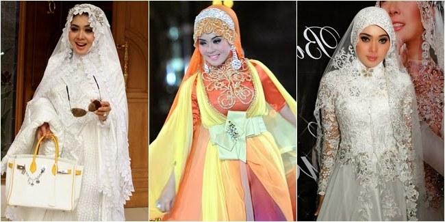 Model Baju Lebaran Ala Syahrini E6d5 13 Foto Desain Baju Muslim Syahrini Kumpulan Model Baju