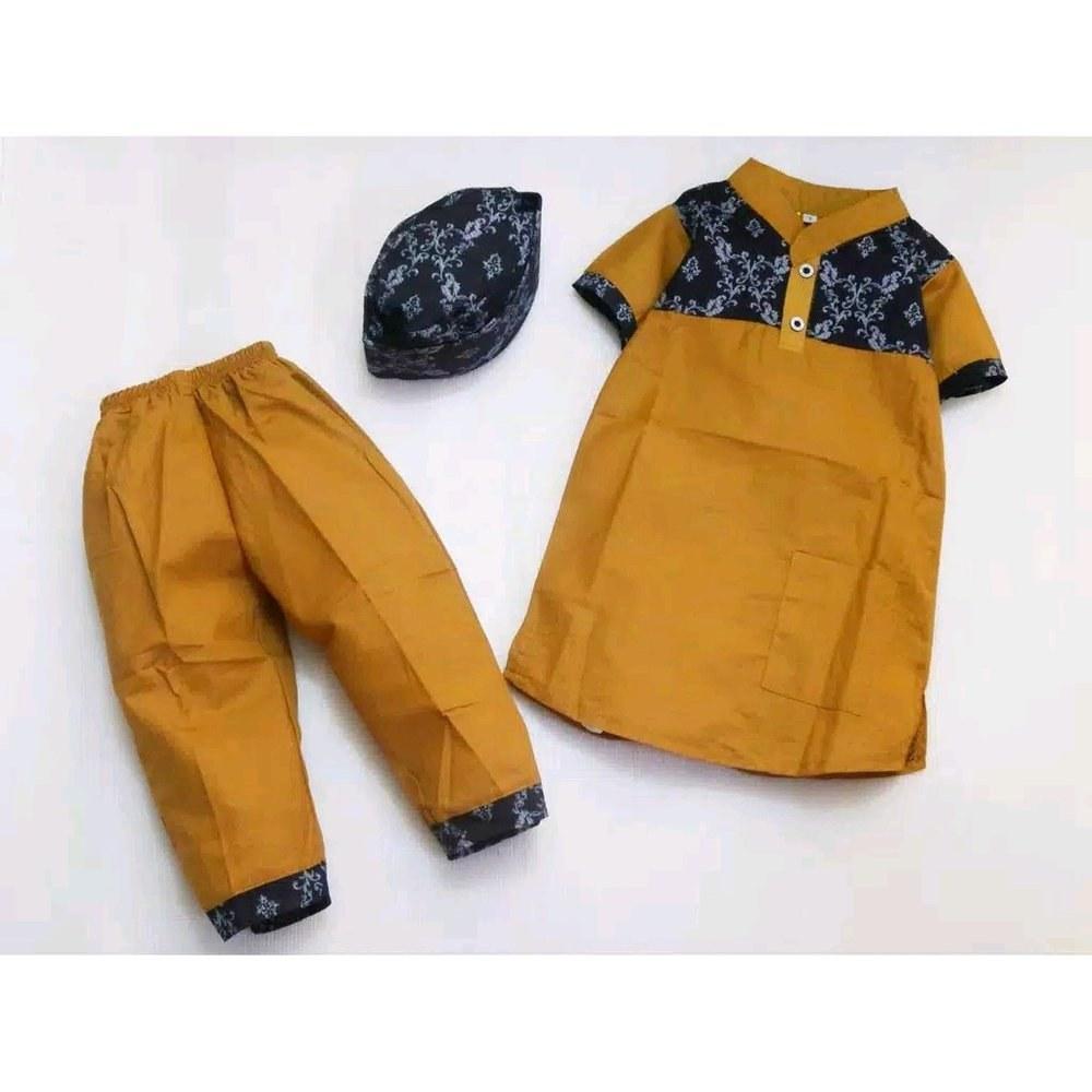 Model Baju Lebaran Anak Laki Laki 3id6 Jual Lebaran Tiba Setelan Baju Koko Gamis Batik Set Anak
